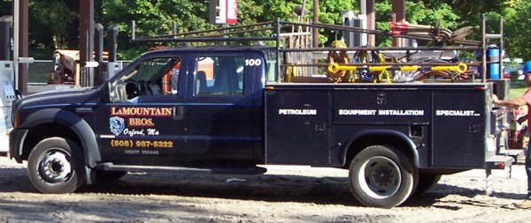 LaMountain Bros.   Company Truck   Oxford, MA